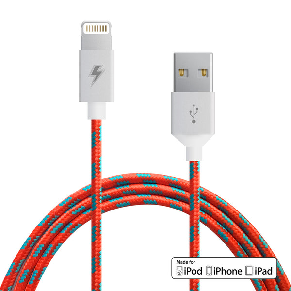 Rocket Pop Lightning Cable for iPhone, iPad, iPod [MFi Certified]