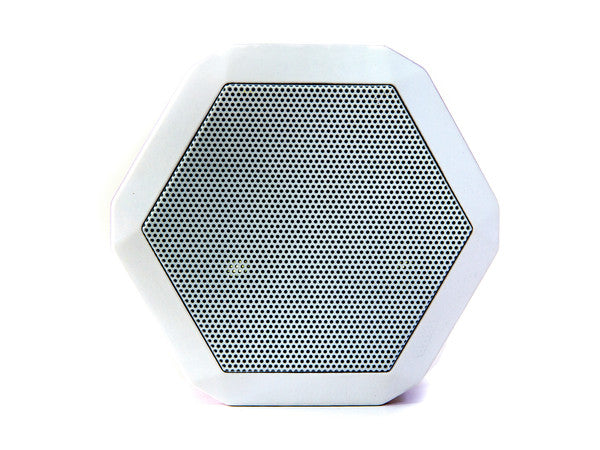 Arctic White Bluetooth Wireless Speaker