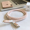 Rose Gold USB-C to Lightning Cable