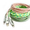 Lime Glow Lightning Cable [10 ft / 3m length]