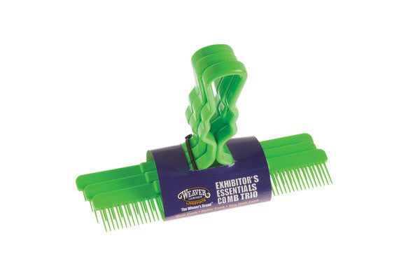 Exhibitor's Essentials Comb Trio
