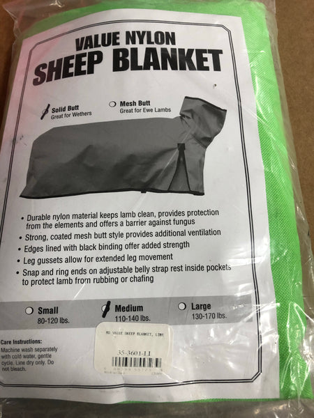 Sheep Solid Butt Value Blanket: