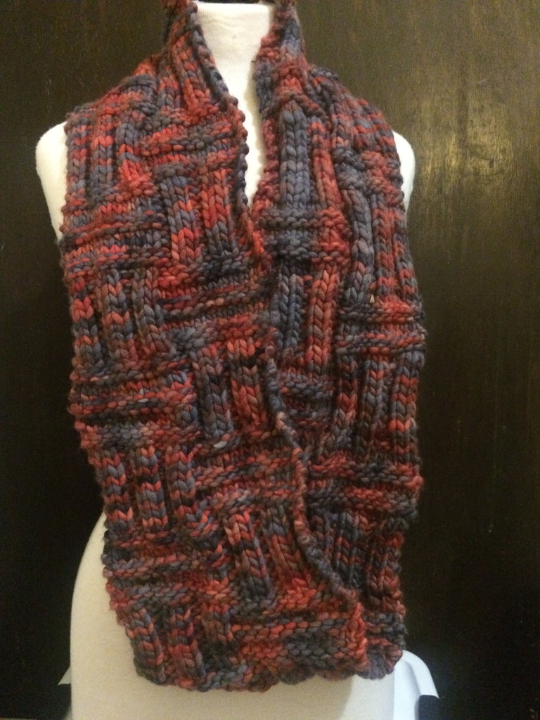 His Basket Weave Cowl