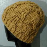 Eiffel Reversible Cable Crochet Hat and Mitts Pattern  Instant download