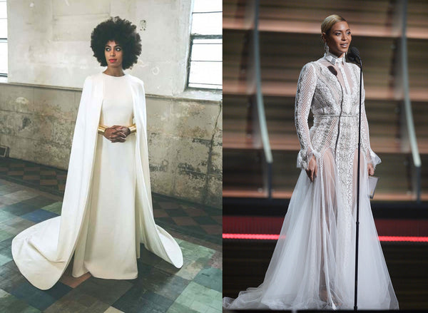 solange vs beyonce fashion minimalist