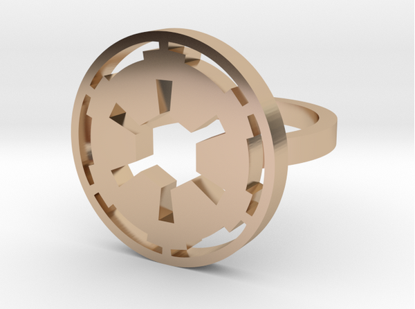 3D Printed Empire Ring - Azmara Asefa - 3