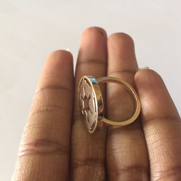 3D Printed Empire Ring - Azmara Asefa - 2