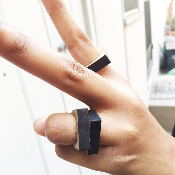 Wooden Laser-cut Ring - Azmara Asefa - 3