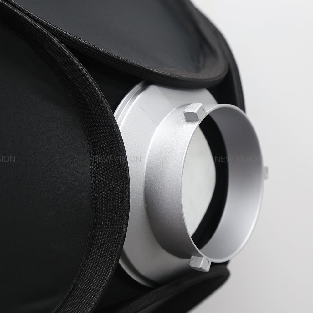 150mm Dia. Mounting Flange Ring Adapter for Flash Acessories fits Bowens Mount - Mode de vie Photography and Photo Presets