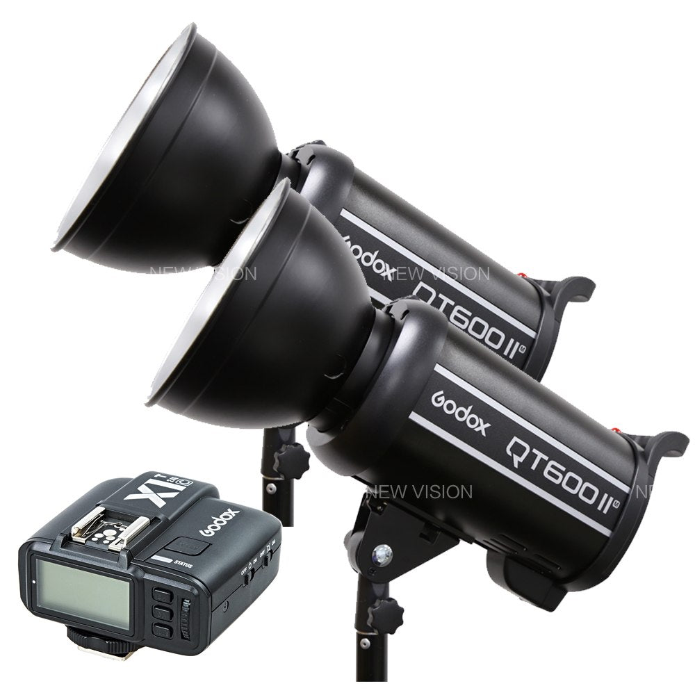 2pcs Godox QT600II GN76 1/8000s High Speed Sync - Mode de vie Photography and Photo Presets
