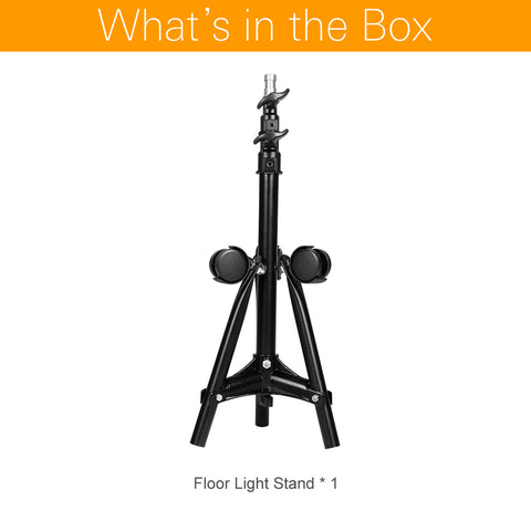 70cm Durable Folding Dolly Wheels Floor Light Stand - Mode de vie Photography and Photo Presets