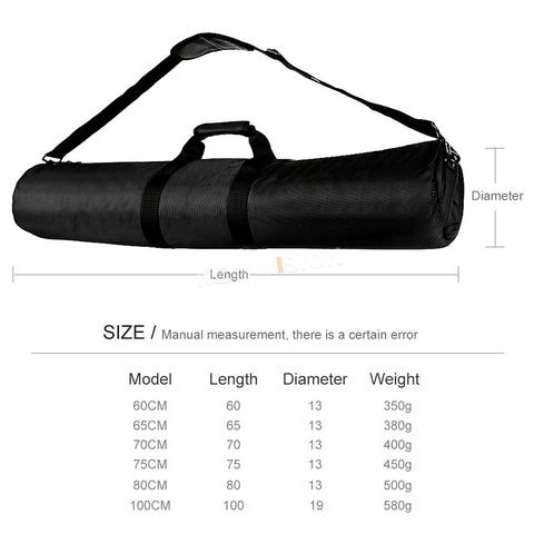 75cm Padded Camera Monopod Tripod Carrying Bag Case / Light Stand Bag with Shoulder Strap For Studio Photography - Mode de vie Photography and Photo Presets