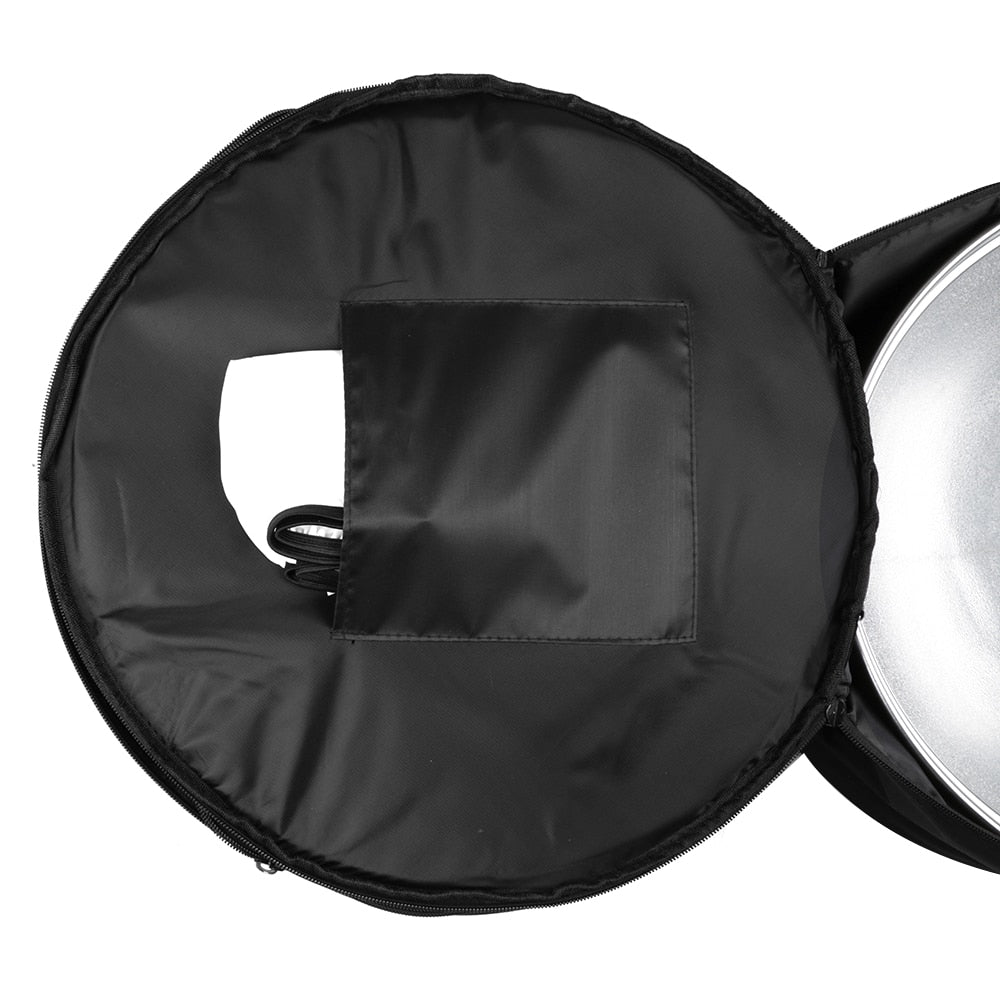 "Beauty Dish Silver White 55cm 22"" Beauty Dish Carry Case Bag Honeycomb Grid Diffuser Bag - Mode de vie Photography and Photo Presets"