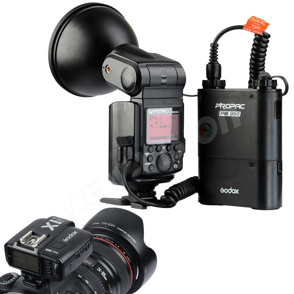 DHL Godox Witstro AD360II-C TTL 360W GN80 Powerful Speedlite Flash Light for Canon EOS - Mode de vie Photography and Photo Presets