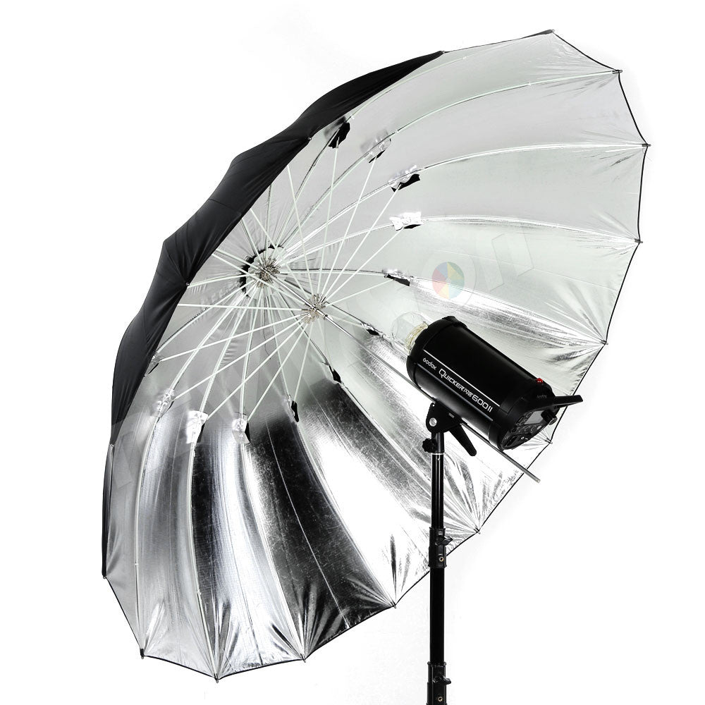 "Free DHL GODOX Studio Photogrphy 75"" / 185cm Silver Black Reflective Lighting Light - Mode de vie Photography and Photo Presets"