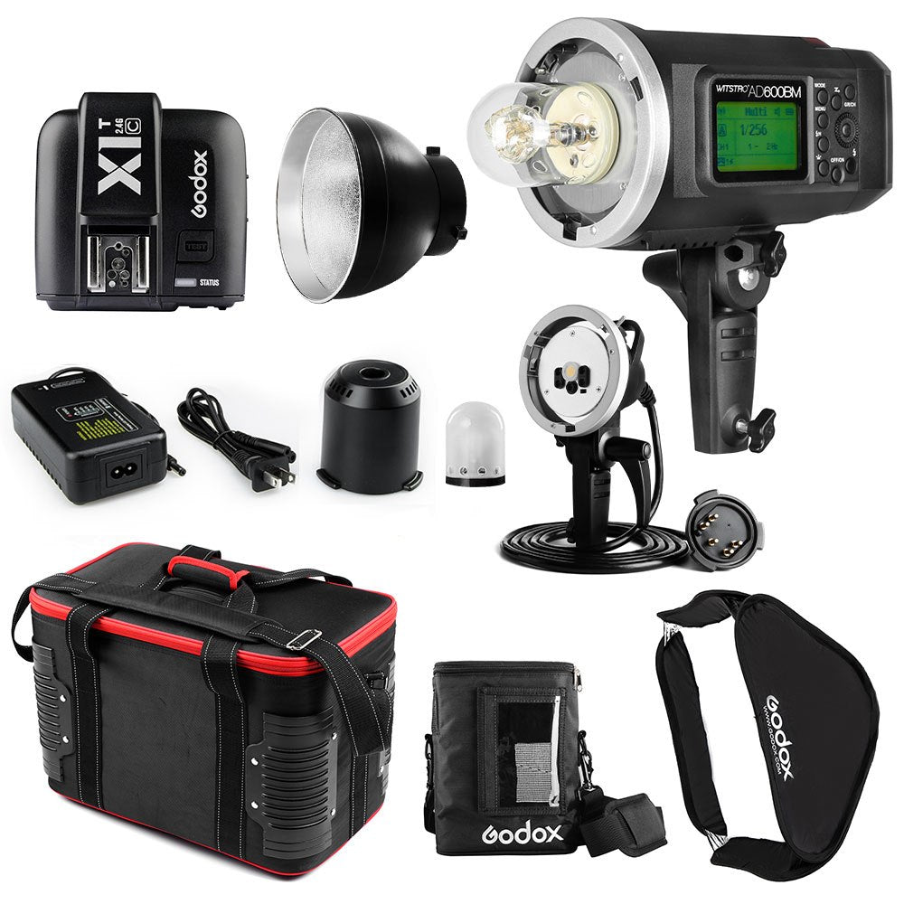 Free DHL Godox AD600BM Kit 600W 1/8000 HSS GN87 Bowens Mount Flash Light - Mode de vie Photography and Photo Presets