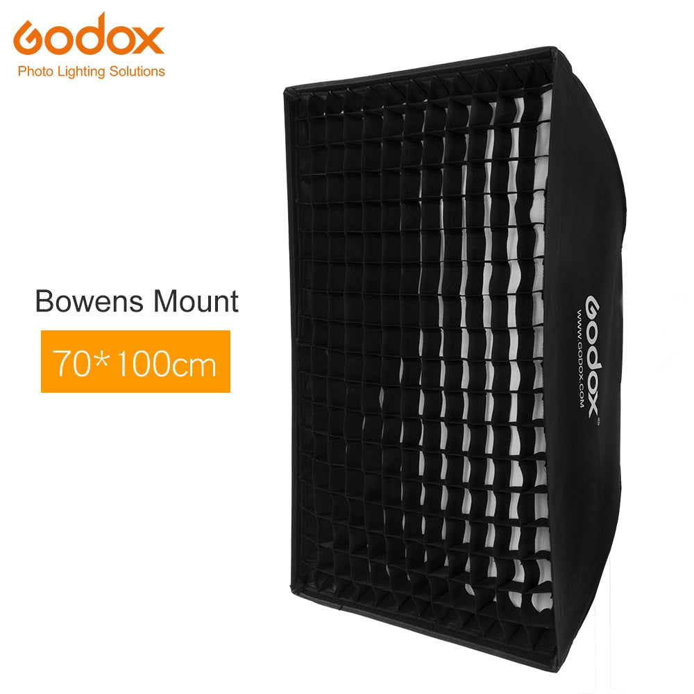 "Godox 29""x 40"" 70x100cm Honeycomb Grid Softbox soft box with Bowens Mount for Studio - Mode de vie Photography and Photo Presets"