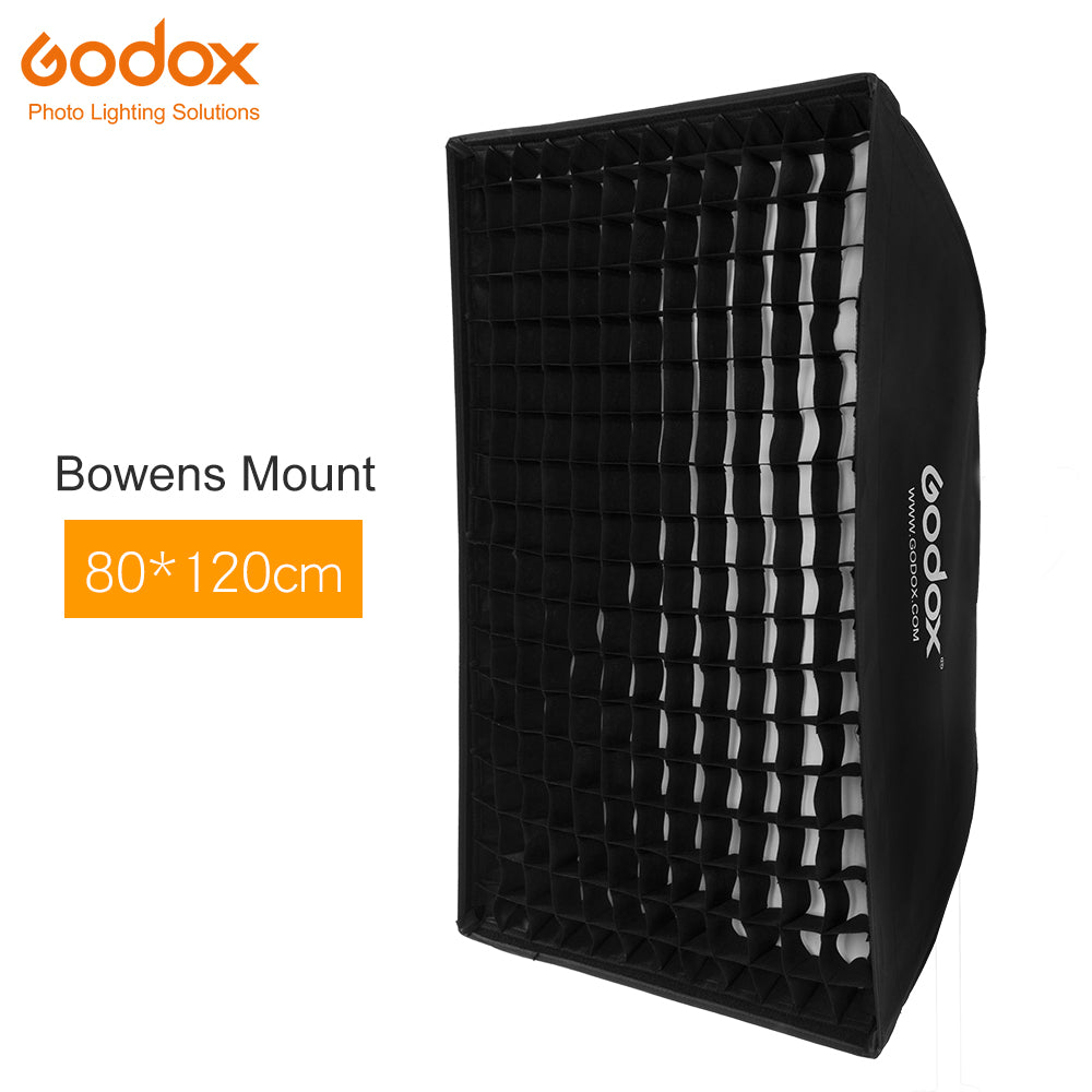 "Godox 32""x 47"" 80x120cm Honeycomb Grid Softbox soft box with Bowens Mount for Studio - Mode de vie Photography and Photo Presets"