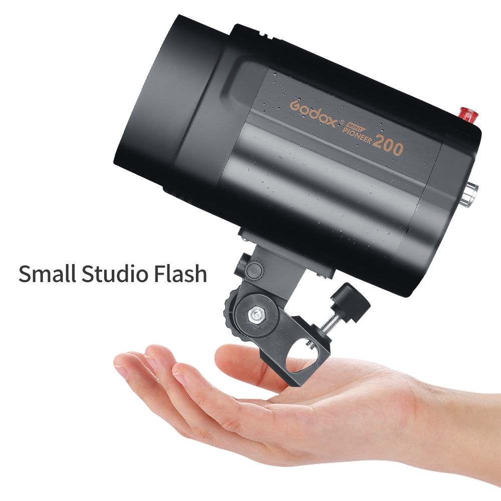 Godox 400Ws Strobe Studio Flash Light Kit 2pcs 200Ws Photographic Lighting - Strobes - Mode de vie Photography and Photo Presets
