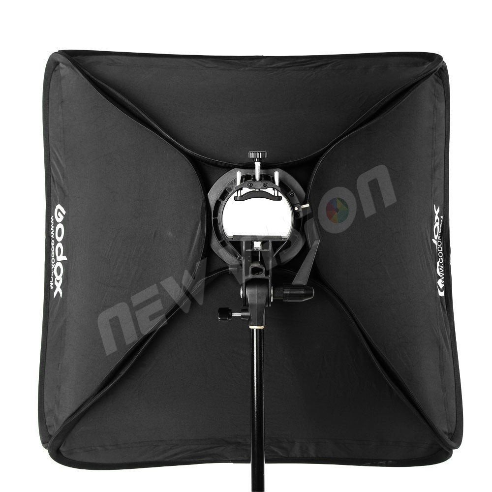"Godox 50 x 50cm 20"" * 20"" Softbox Diffuser with S-type Bracket Bowens Holder for Studio - Mode de vie Photography and Photo Presets"