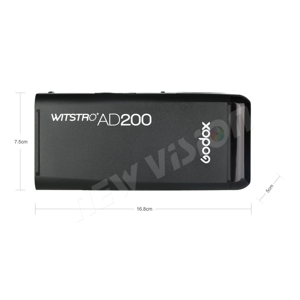 Godox AD200 200Ws GN60 HSS Flash Strobe Built-in 2.4G Wireless X System to Achieve TTL - Mode de vie Photography and Photo Presets