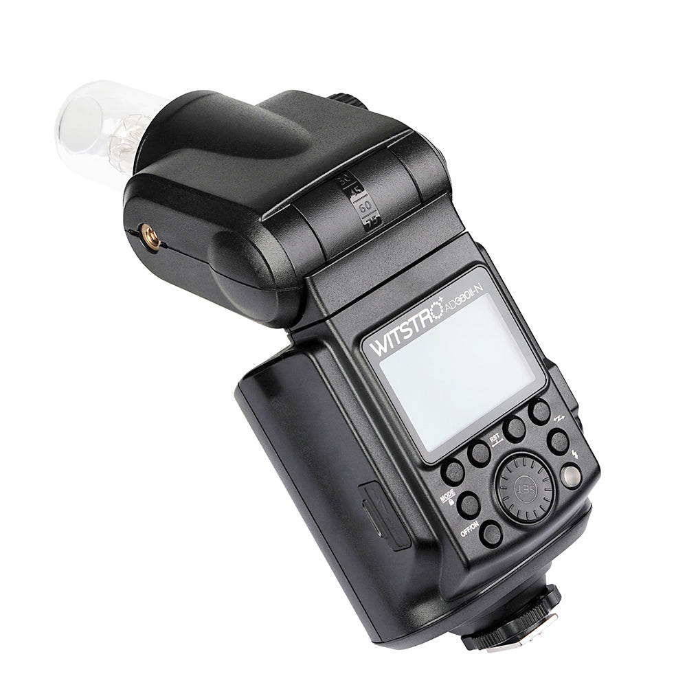 Godox AD360II-N TTL On/Off-Camera Flash Speedlite 2.4G Wireless X System for Nikon - Mode de vie Photography and Photo Presets