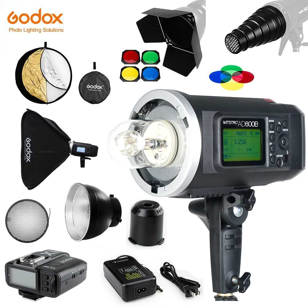 Godox AD600B 600Ws TTL GN87 1/8000 HSS Bowens Mount Outdoor Flash with X1T TTL - Mode de vie Photography and Photo Presets