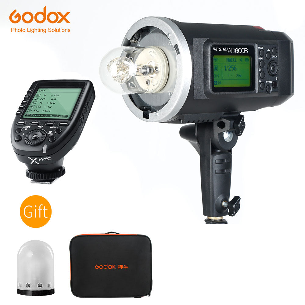 Godox AD600B 600Ws TTL HSS 1/8000 Portable Outdoor Flash Bowens Mount - Mode de vie Photography and Photo Presets
