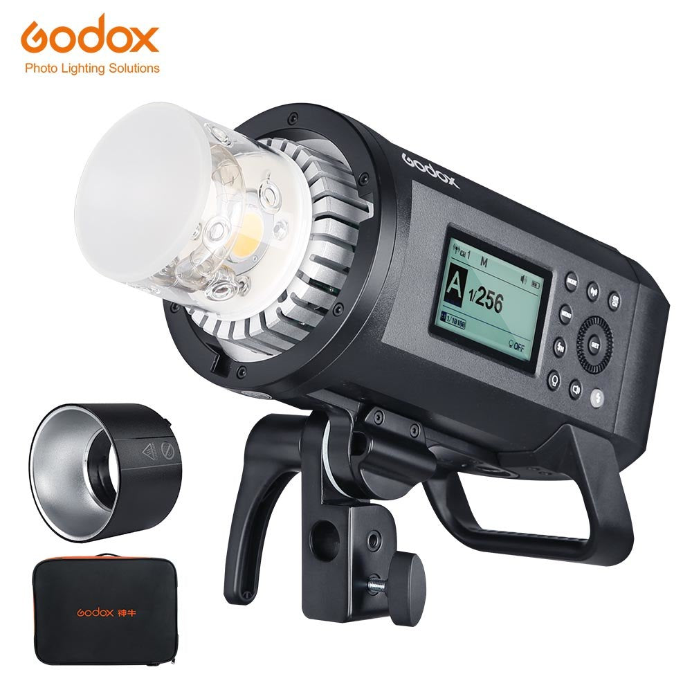 Godox AD600Pro 600W Outdoor Flash Li-on Battery TTL HSS Built-in Godox 2.4G Wireless - Mode de vie Photography and Photo Presets