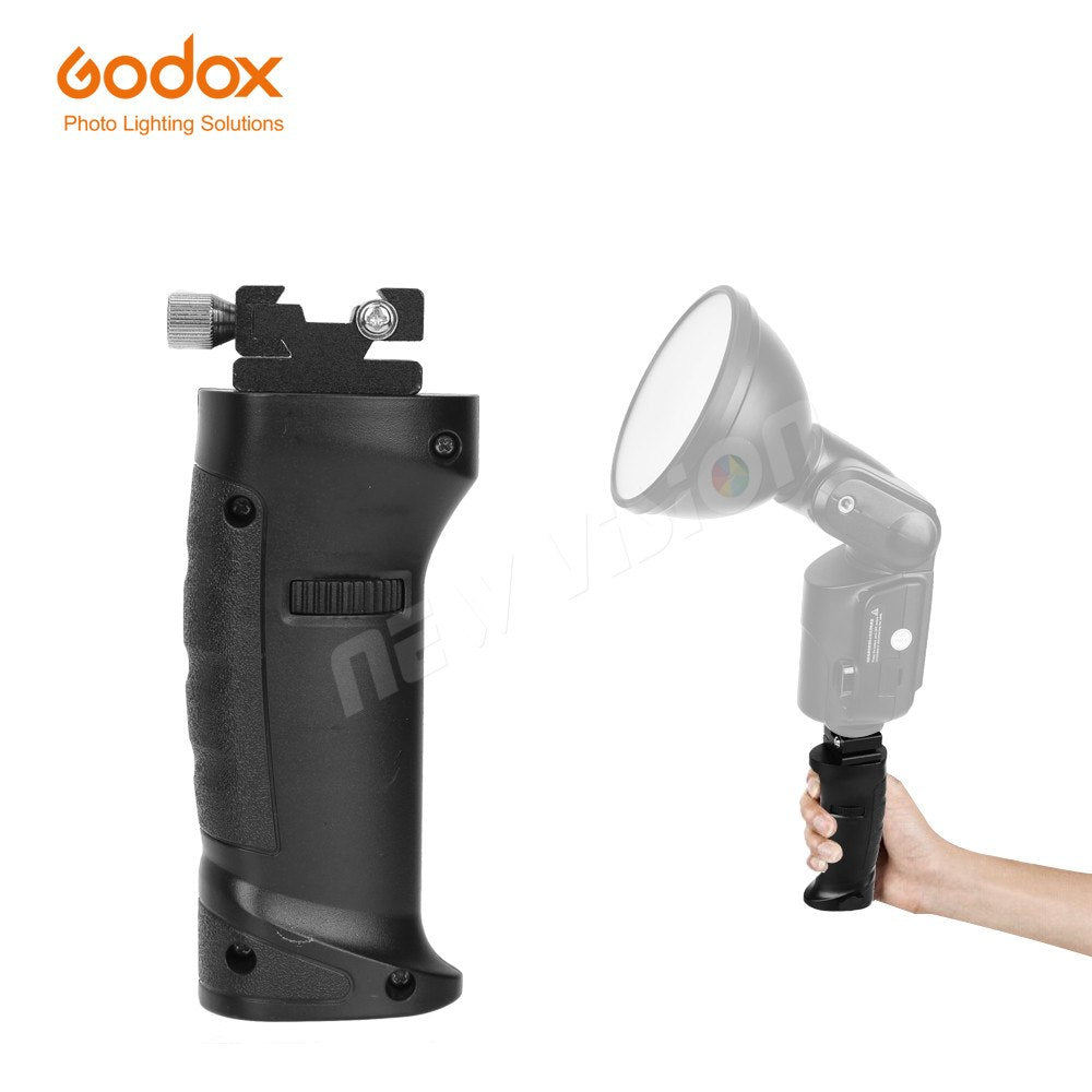 Godox Ad360 Flash Accessories Hot shoe Handle Grip FG-40 for Speedlite Ad200 Ad180 - Mode de vie Photography and Photo Presets