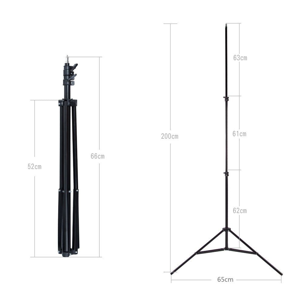 Godox Ajustable 302 2m Light Stand with 1/4 Screw Head Tripod for Studio Photo Video Flash - Mode de vie Photography and Photo Presets