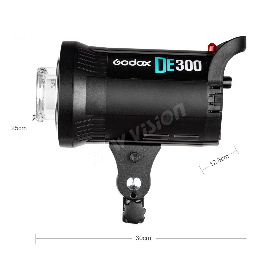 Godox DE300 300W 220V Studio Strobe Photo Flash Light Lamp 300Watts for Portrait - Mode de vie Photography and Photo Presets