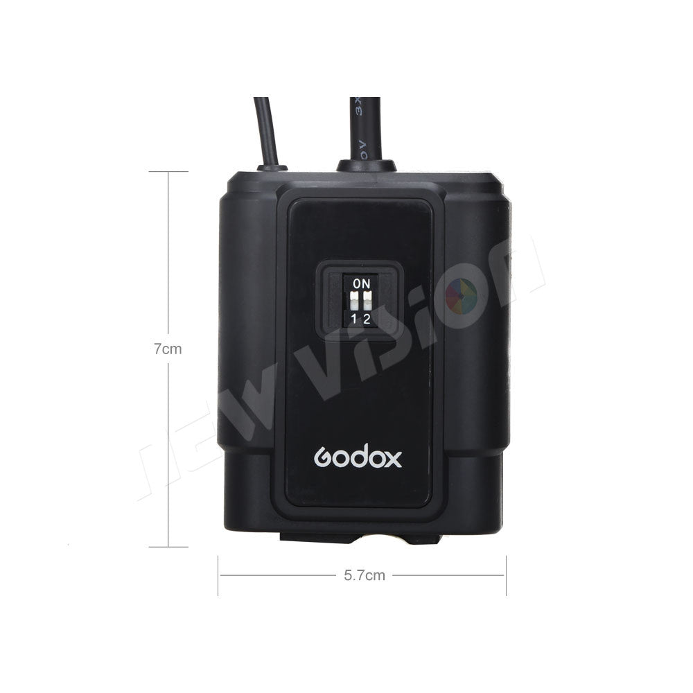 Godox DM-04 Wireless Studio Flash Receiver for Canon, Nikon, Pentax, Olympus, 4 Channel, AC Power, Sync Speed (Only Receiver) - Mode de vie Photography and Photo Presets