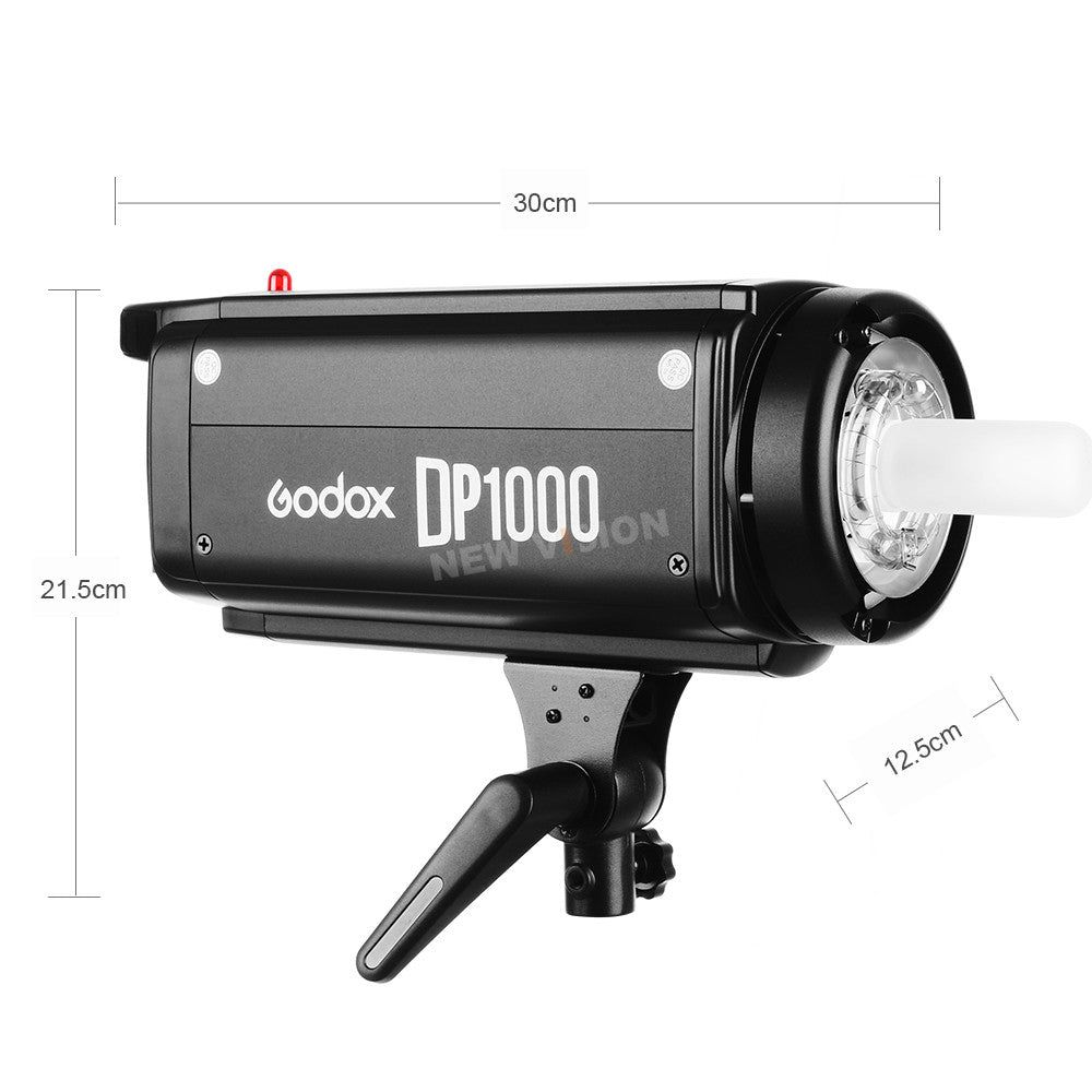 Godox DP1000 1000Ws GN92 Pro Photography Strobe Flash Studio Light Lamp Head - Mode de vie Photography and Photo Presets