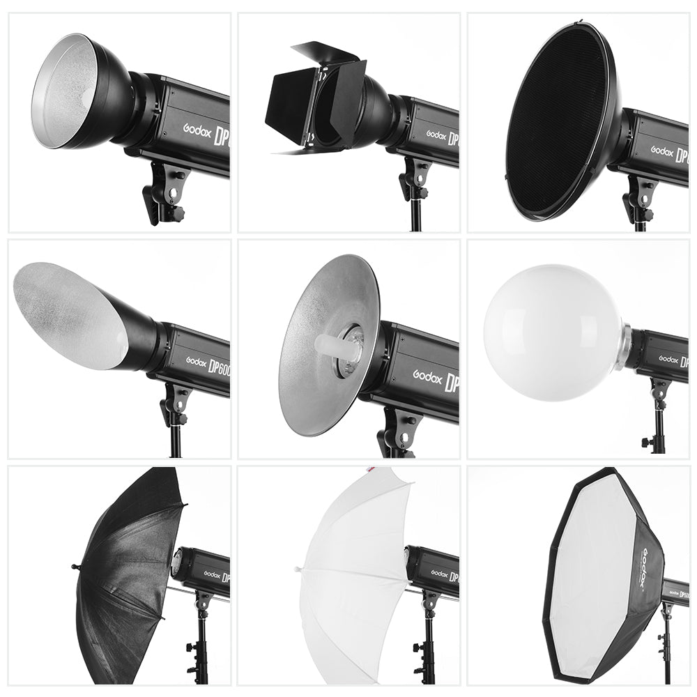 Godox DP300II 300Ws GN58 Professional Studio Strobe with Built-in Godox 2.4G Wireless - Mode de vie Photography and Photo Presets