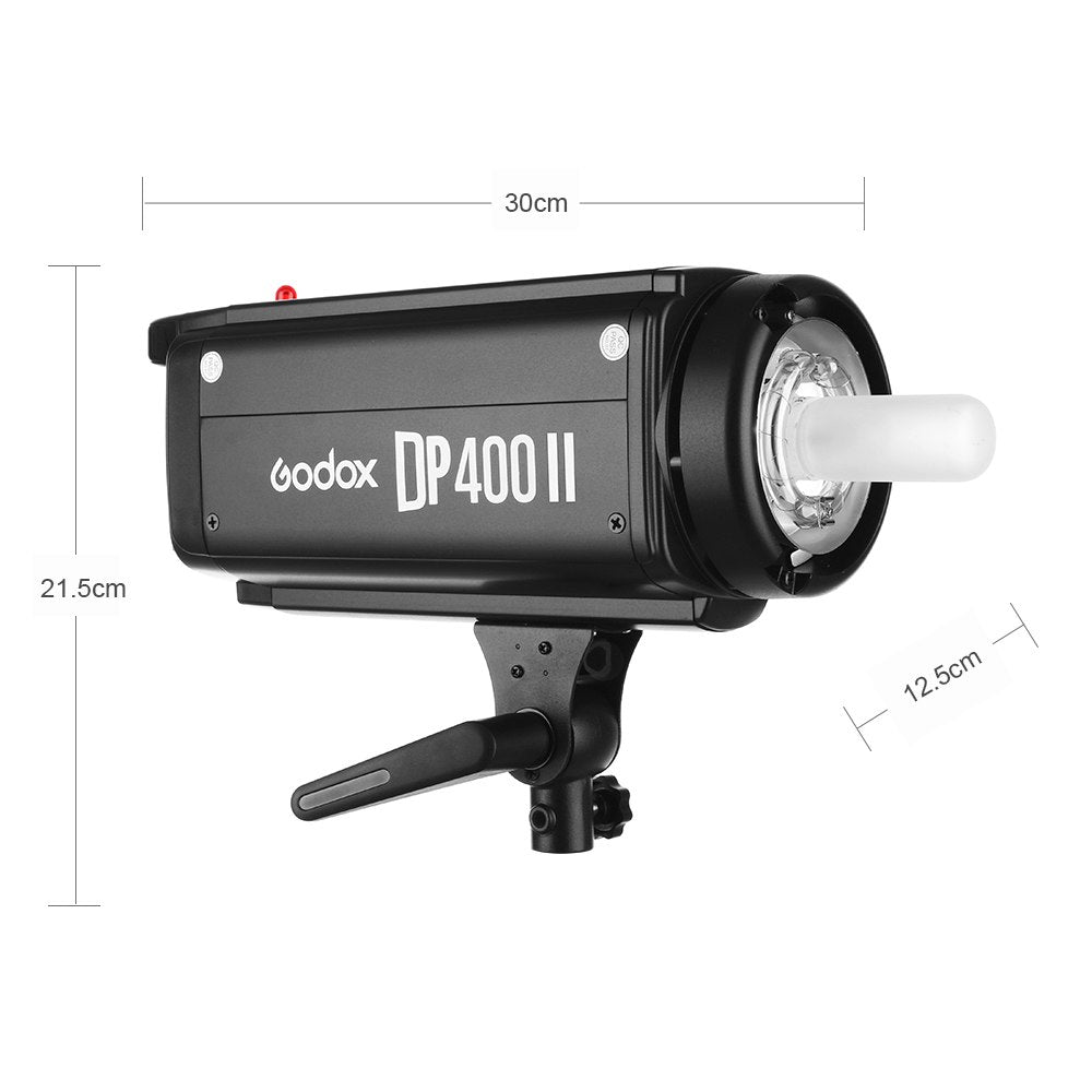 Godox DP400II 400Ws GN65 Professional Studio Strobe with Built-in Godox 2.4G Wireless - Mode de vie Photography and Photo Presets