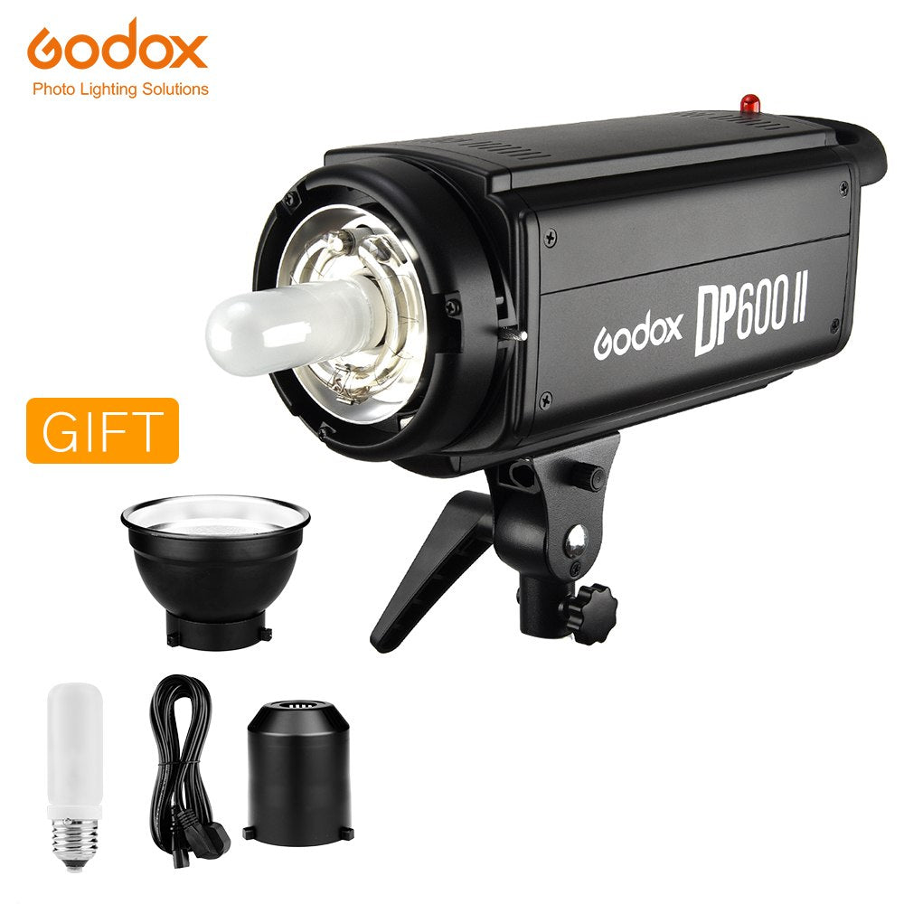 Godox DP600II DP600 II 600Ws GN80 Professional Studio Strobe with Built-in Godox 2.4G - Mode de vie Photography and Photo Presets