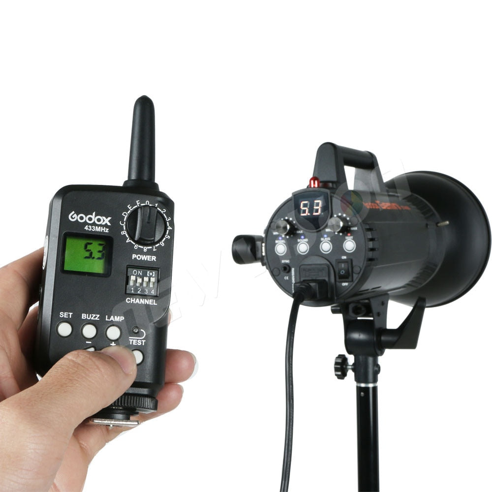 Godox FT-16 WITSTRO Wireless Power Controller Trigger with 3X Receiver Godox AD180 AD360 DE300 DE400 SK400 GT400