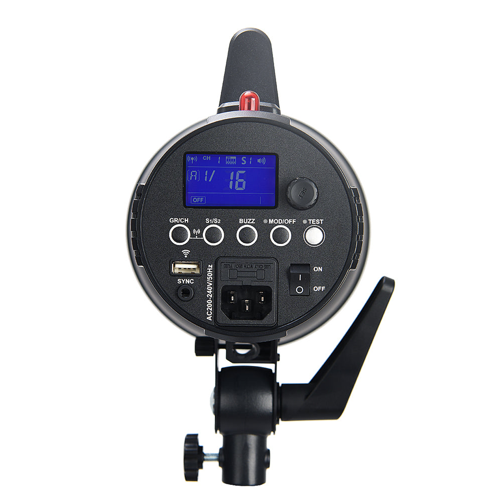 Godox GS200II GS200 II 200Ws GN49 Professional Studio Strobe with Built-in Godox 2.4G - Mode de vie Photography and Photo Presets
