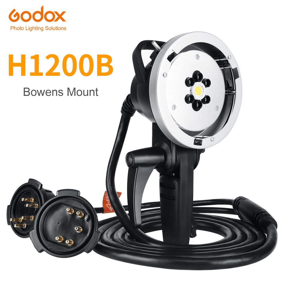 Godox H1200B Bowens Mount for AD600B AD600BM Wireless Strobe Flash (Bowens Mount) - Mode de vie Photography and Photo Presets
