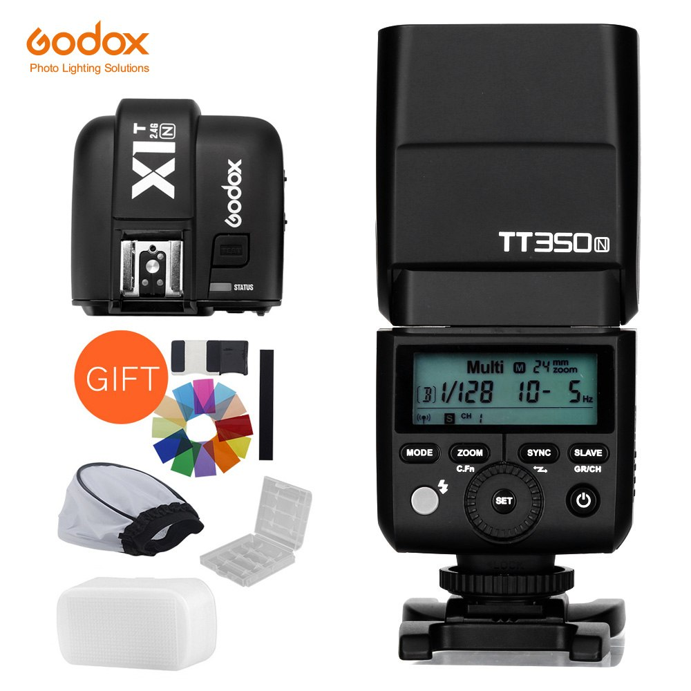 Godox Mini TT350N TTL HSS 1/8000s 2.4G Wireless X System Flash with X1T-N 2.4G TTL - Mode de vie Photography and Photo Presets