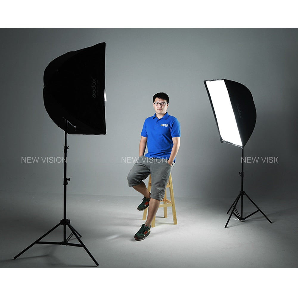 "Godox Portable 60 * 90cm 24"" * 35"" Umbrella Photo Softbox Reflector for Flash Speedlight - Mode de vie Photography and Photo Presets"