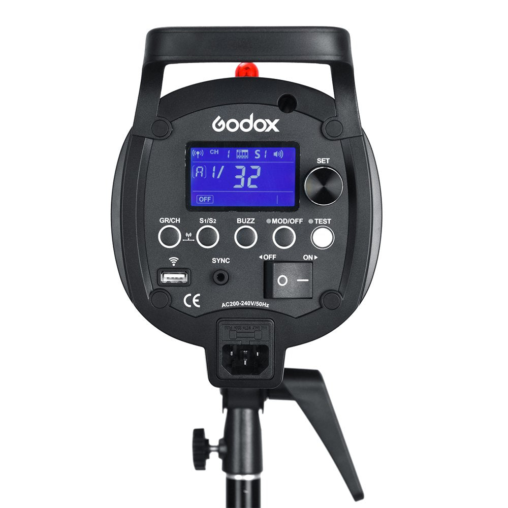Godox QS1200II 1200Ws GN110 Professional Studio Strobe with Built-in Godox 2.4G Wireless - Mode de vie Photography and Photo Presets