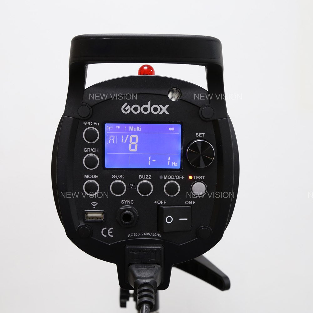 Godox QT600II 600WS GN76 1/8000s High Speed Sync Flash Strobe Light with Built in 2.4G - Mode de vie Photography and Photo Presets