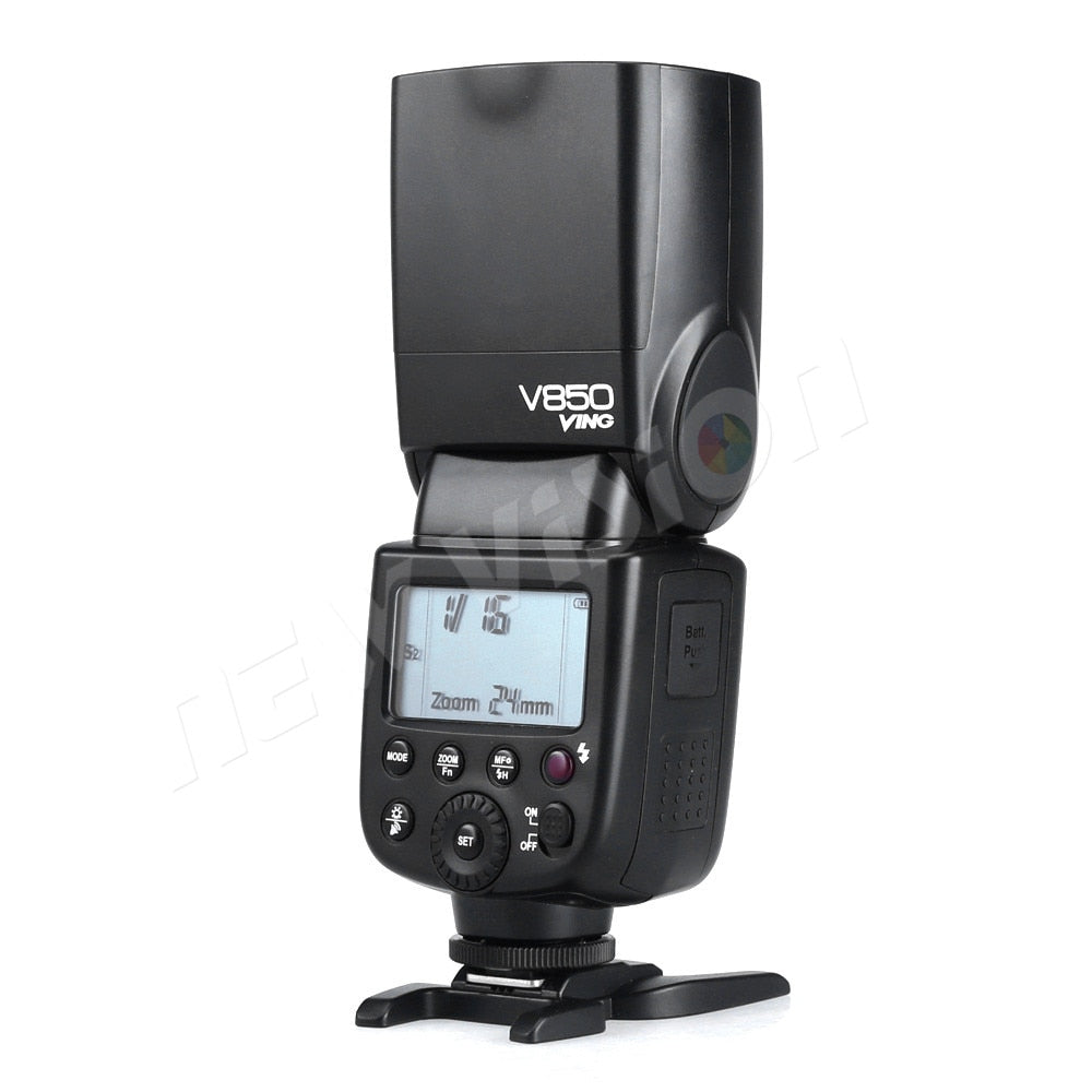 Godox V850 Speedlite Li-ion Manual Flash Fast Recyling Charge 1/8000s For  Nikon