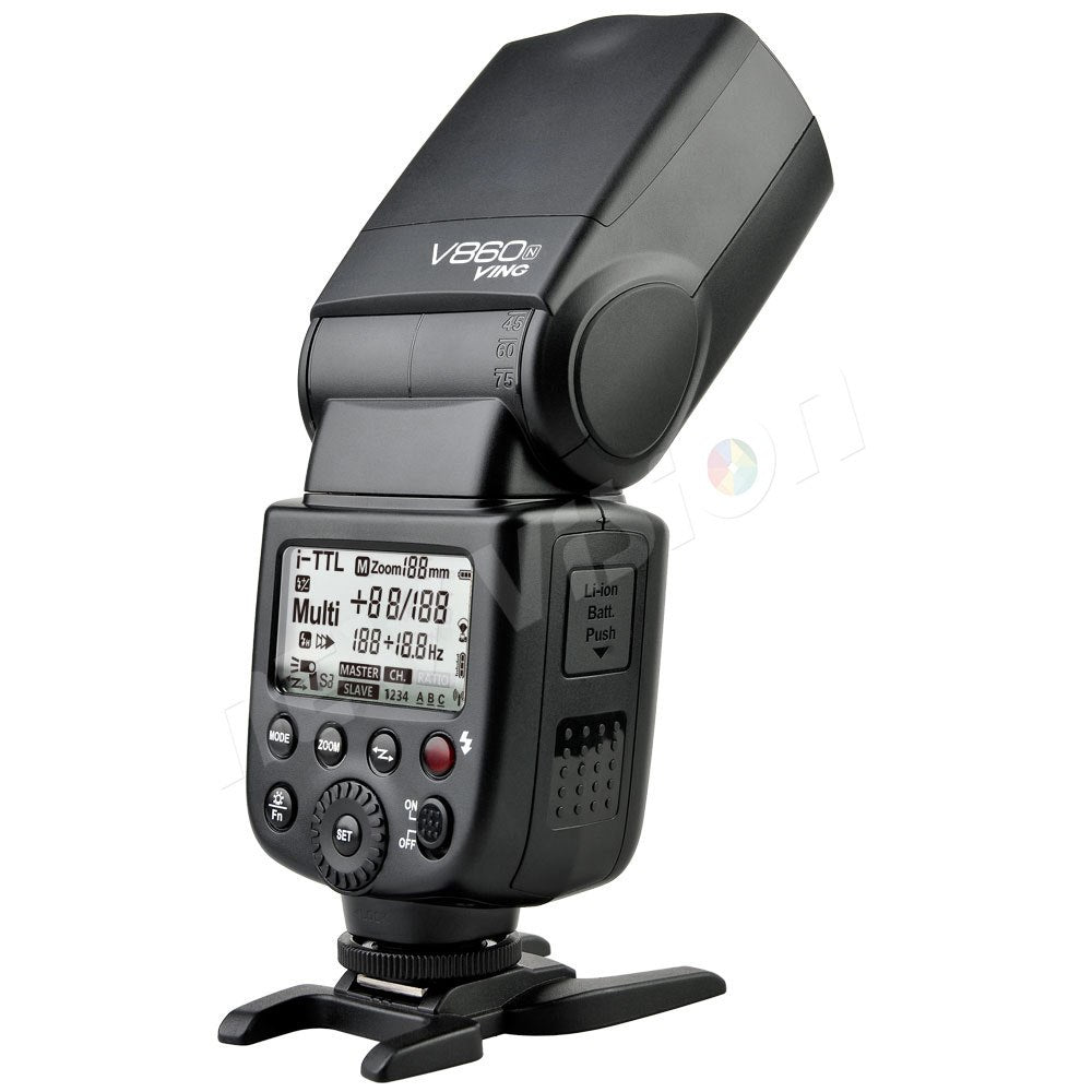 Godox V860C 1/8000S HSS e-TTL Speedlight Flash Light w/ Rechargeable Li-ion Battery - Mode de vie Photography and Photo Presets