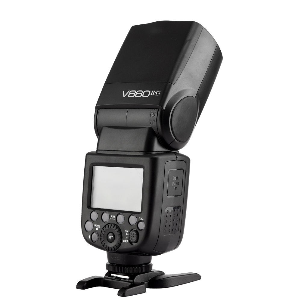 Godox V860II-C/N/S/F/O GN60 2.4G TTL HSS 1/8000 Without VB18 Battery Camera Speedlite - Mode de vie Photography and Photo Presets
