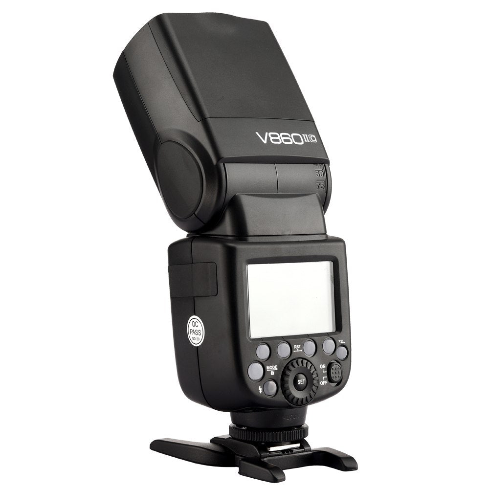 Godox V860II-C V860IIC Speedlite GN60 HSS 1/8000s TTL Flash Light +Xpro-C - Mode de vie Photography and Photo Presets