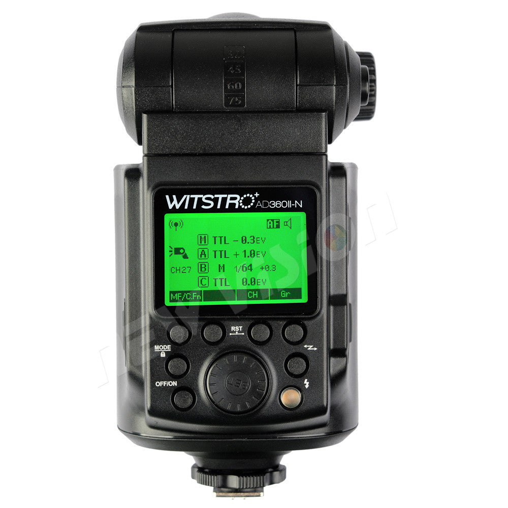 Godox Witstro AD360II-N GN80 TTL 360W GN80 Powerful Speedlite Flash Light + 4500mAh - Mode de vie Photography and Photo Presets