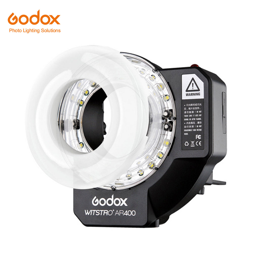 Godox Witstro AR400 400W Li-ion Battery HSS 2in1 Ring Flash Speedlite LED Light - Mode de vie Photography and Photo Presets